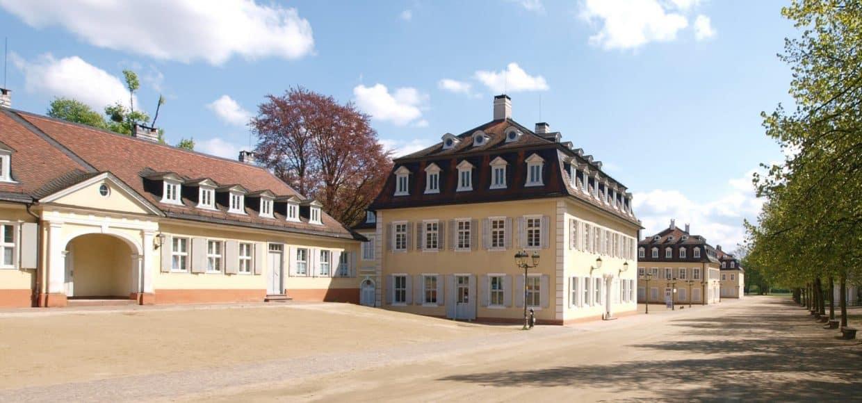Parkpromenade im Staatspark Hanau Wilhelmsbad