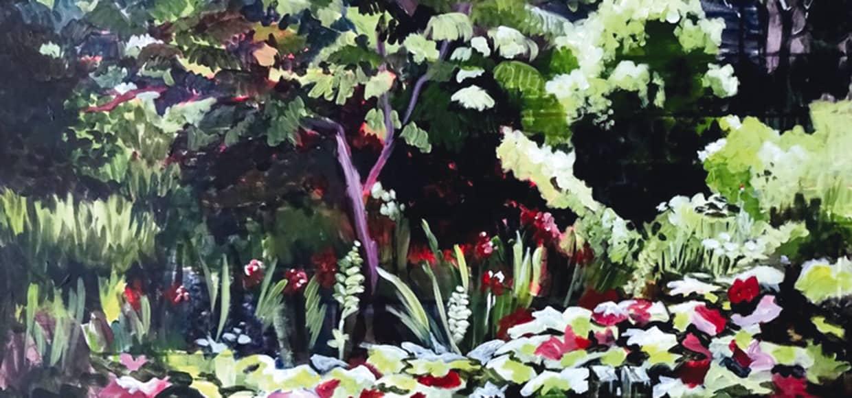 Martina Roth Gemälde Landschaft