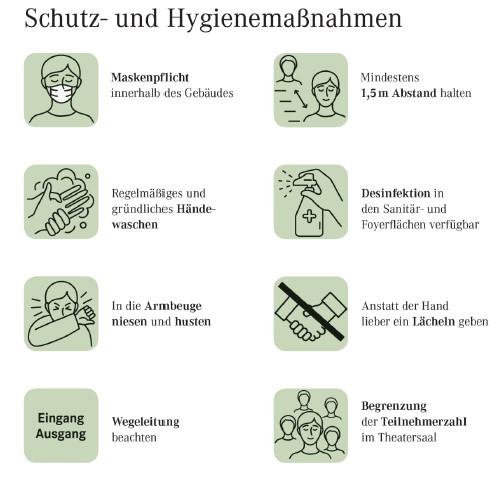 Schutz- und Hygienemaßnahmen zur Vermeidung von Infektionen